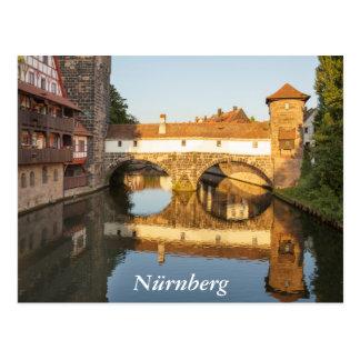 Henkersteg in Nürnberg Postcard