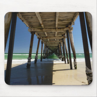 Henley beach jetty mouse pad
