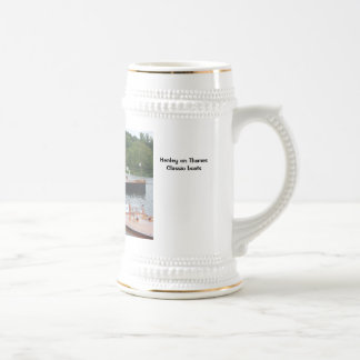 Henley on Thames Classic boats Beer Stein