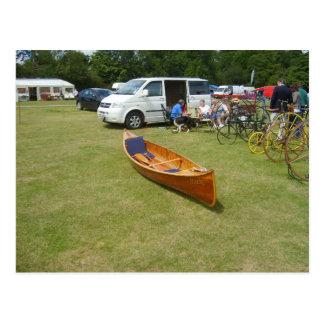 Henley on Thames, Classic canoe Postcard