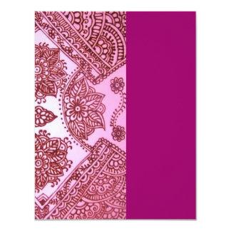 Henna art card