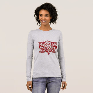 Henna black saves creation long sleeve T-Shirt