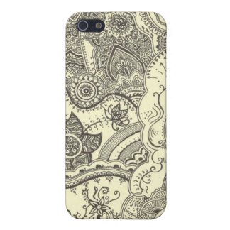 Henna Case Cover For iPhone 5/5S
