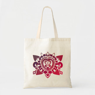 Henna design tote bag