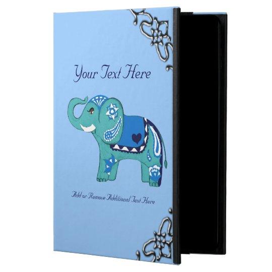 Henna Elephant (Blue/Light Blue) Powis iPad Air 2 Case