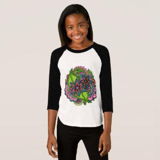 Henna Floral 3/4 Sleeve Shirt