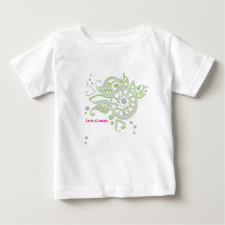 Henna Flower Love Always Drawing Baby T-Shirt