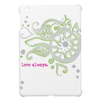 Henna Flower Love Always Drawing iPad Mini Cover