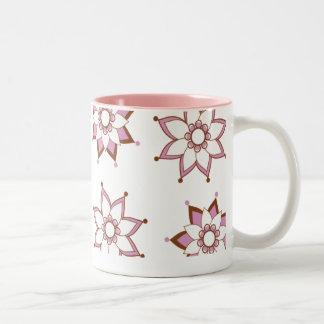 Henna Flower Mug