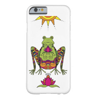 Henna Frog iPhone Case