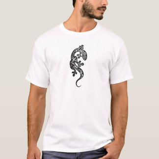 Henna Gecko By Cynthia McDonald T-Shirt