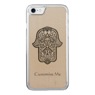 Henna Hand of Hamsa (Original) Carved iPhone 7 Case