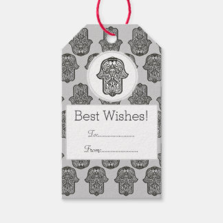 Henna Hand of Hamsa (Original) Pack Of Gift Tags