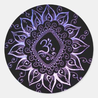 Henna Hindu Symbol Sticker