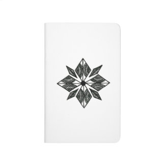 Henna inspired diamond notebook