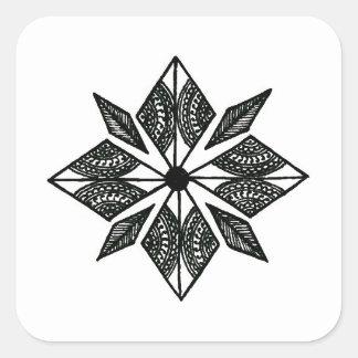 Henna inspired diamond sticker