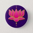 Henna Lotus Pink Button