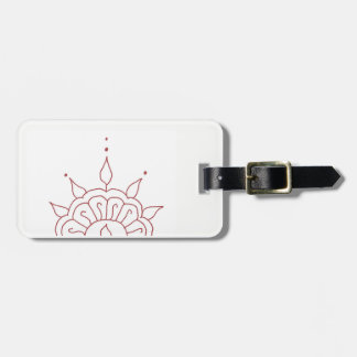 Henna luggage tag