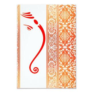 "henna*M 3.5"" X 5"" Invitation Card"