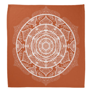 Henna Mandala Bandana