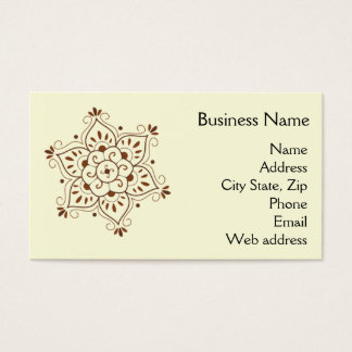 Henna business cards and business card templates zazzle for Henna business cards