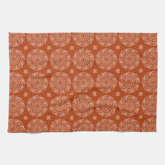 Henna Mandala Kitchen Towel