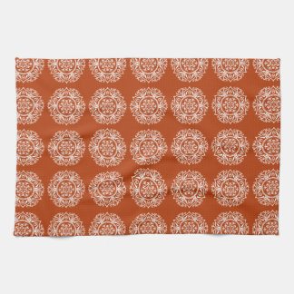 Henna Mandala Kitchen Towel