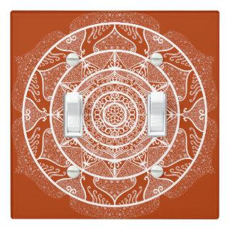 Henna Mandala Light Switch Cover