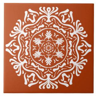 Henna Mandala Tile
