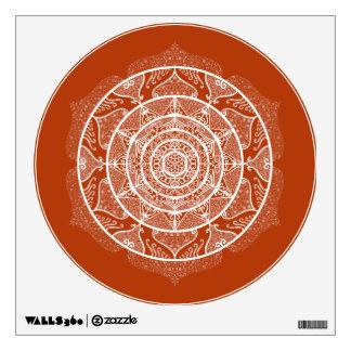 Henna Mandala Wall Sticker