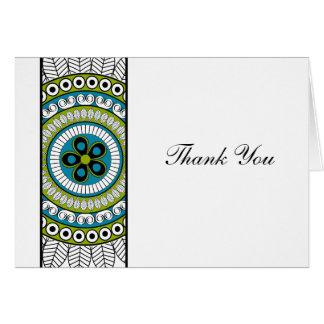 Henna Mehndi Thank You Stationery Note Card