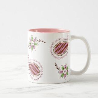 Henna Paisley & Flower Mug
