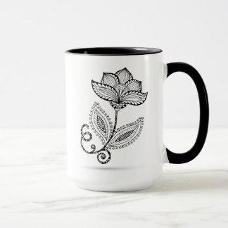 Henna Paisley Mehndi Doodles Mug