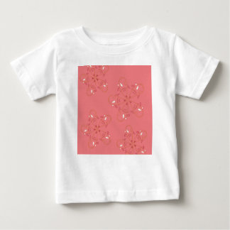 Henna Pink Gold ethno look Baby T-Shirt