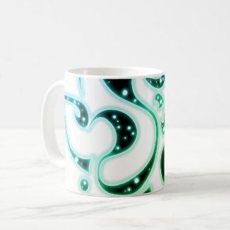 Henna sparkle design coffee mug