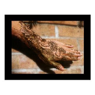 Henna Urban Postcard