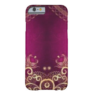 *Henna-vintage-purple- Barely There iPhone 6 Case