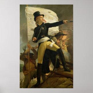 Henri de La Rochejaquelein , leader of the Poster