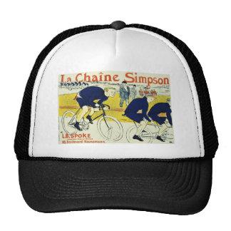 Henri de Toulouse La Chaine Simpson Mesh Hats