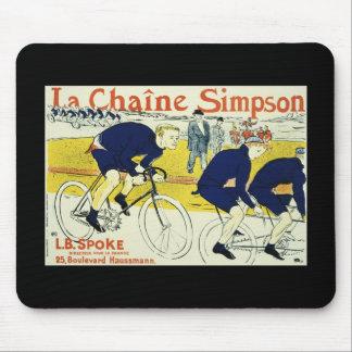 Henri de Toulouse La Chaine Simpson Mouse Pads