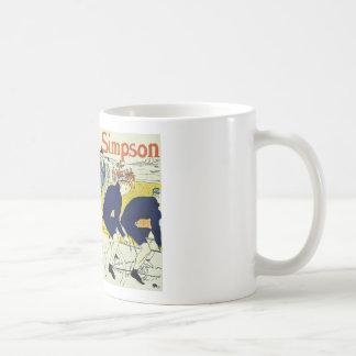 Henri de Toulouse La Chaine Simpson Classic White Coffee Mug