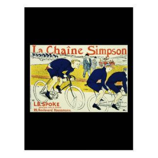 Henri de Toulouse La Chaine Simpson Postcard