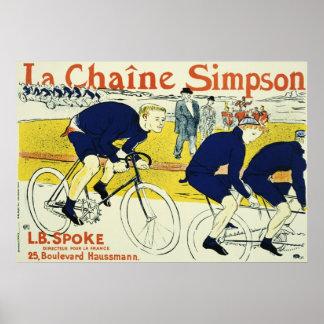 Henri de Toulouse La Chaine Simpson Print