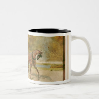 Henri de Toulouse-Lautrec | A Dog-Cart Two-Tone Coffee Mug
