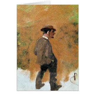 Henri de Toulouse-Lautrec  aged 19, 1883 Card