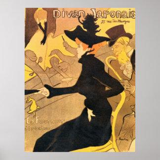Henri de Toulouse-Lautrec -  Divan Japonais Poster