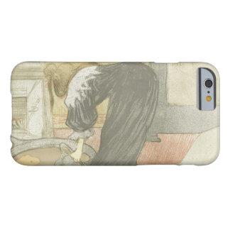 Henri de Toulouse-Lautrec - Elles-Woman at the Tub Barely There iPhone 6 Case