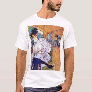 Henri de Toulouse Lautrec: Jane Avril Dancing T-Shirt