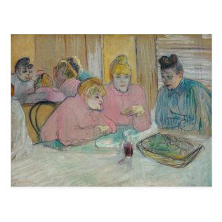 Henri de Toulouse-Lautrec - Ladies in Dining Room Postcard