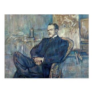 Henri de Toulouse-Lautrec- Paul Leclercq Postcard
